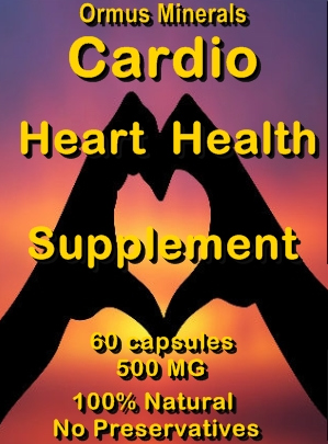 Ormus Minerals Cardio Heart Health Supplement